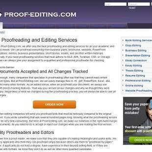 Proof-editing.com Review